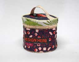 Cosmetic Round Pouch