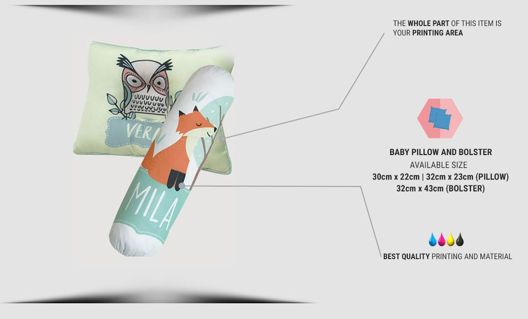baby pillow & bolster specification