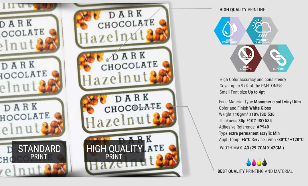 Sticker High Quality specification