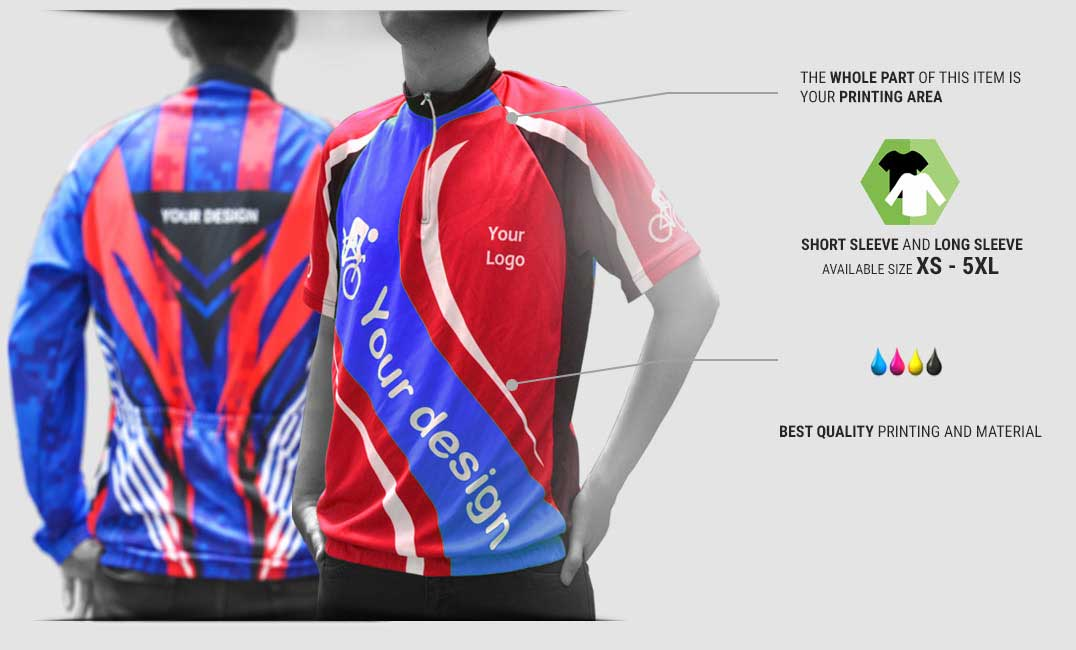 cycling jersey specification