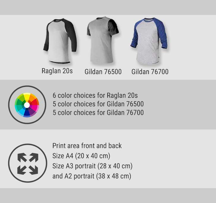 raglan  specification mobile 2