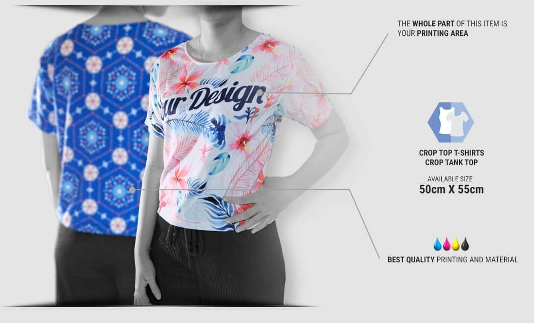 crop top specification