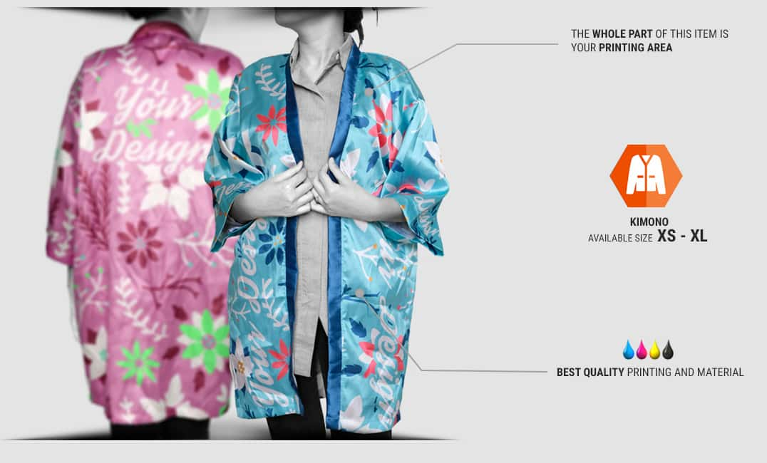 specification kimono