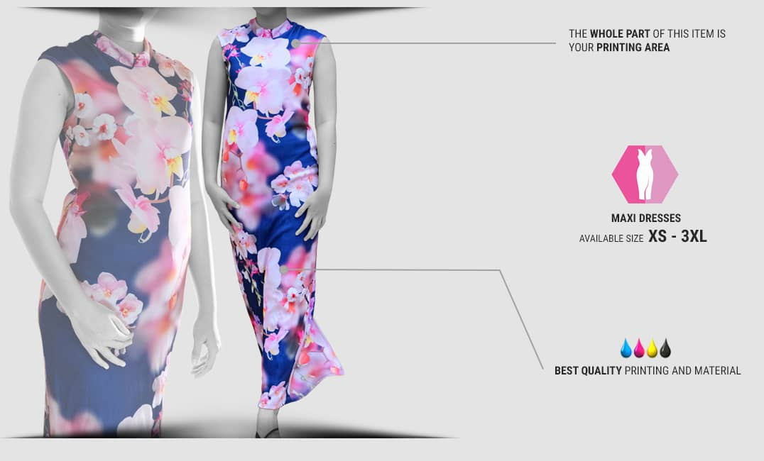 specification maxi dress