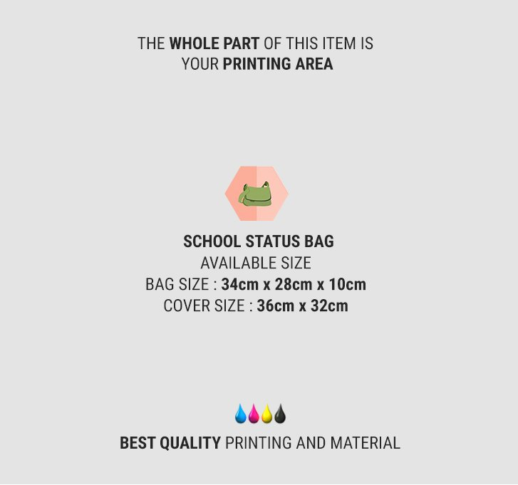 fullprint  specification mobile school status bag 2