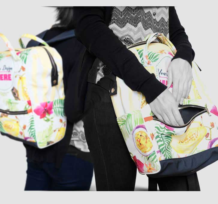 fullprint  specification mobile Vintage Sidefold backpack 1