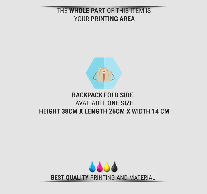 fullprint  specification mobile Vintage Sidefold backpack 2