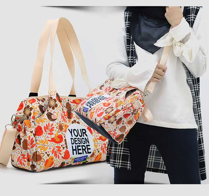 fullprint  sling handbags 2