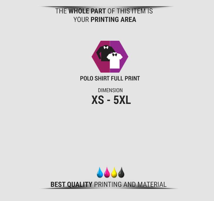 Fullprint Polo Shirts specification mobile 2