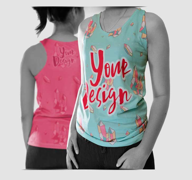 Tanktop Women specification mobile 1